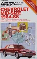 LIVRE/BOOK : manuel de réparation Chevrolet (chevelle,camino,malibu,monte carlo