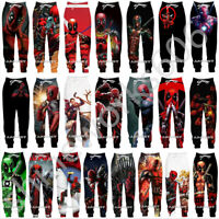 Deadpool Funny 3D Print Casual trousers Men Women Sweatpants Sport Jogging Pants