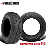 2 X New General Grabber HTS 245/70R17 108S Highway All-Season Tire