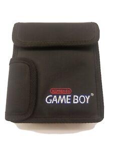 Vintage Nintendo Gameboy Color Carrying Bag Black Case Genuine Original