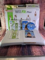 Nintendo Wii Balance board with Wii fit plus and Daisy Fuentes games