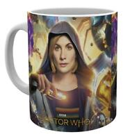 OFFICIAL DR WHO 13TH DOCTOR UNIVERSE CALLING COFFEE MUG CUP NEW IN GIFT BOX