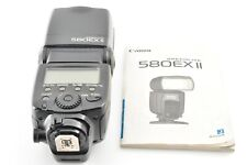 Canon SPEEDLITE 580EX II 2 Hot Shoe Flash for DSLR EOS w/ Instruction from JAPAN