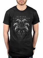 Official Asking Alexandria Rotating Skull T-shirt Unisex Reckless & Relentless B