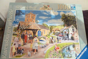 Ravensburger 'The Sunday Service' (1000 pieces) Complete