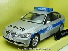 POLICE POLIZEI CAR BMW 3 SERIES 1/43 SIZE ABREX CARARAMA BOXED TYPE Y0675J^*^