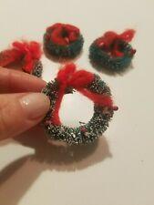 Dollhouse Miniature Wreaths