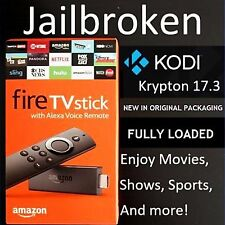 Amazon Fire TV Stick w/ Alexa Voice Remote - 2nd Gen Quad Core - K O D I - 17.3