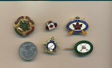 Lot of 5  Canada Curling Pins