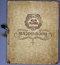 Wappenschau Sammelalbum Kur Mark # 753