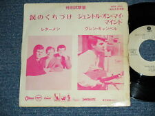 "LETTERMEN GLENN CAMPBELL Japan PROMO 7""45 SEALED WITH A KISS GENTLE ON MY MIND"