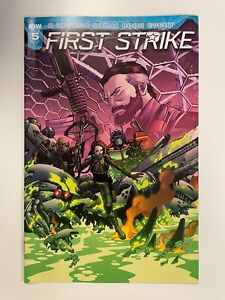 IDW FIRST STRIKE #5 RI-B COVER : NM CONDITION