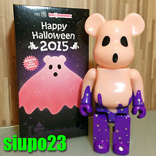 Medicom 400% Bearbrick ~ Happy Halloween 2015 Be@rbrick Red GID Ver