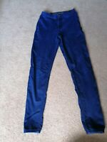 M&S Super Skinny Jeans Blue Uk Size 10 Long Length Used