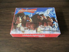 Budweiser Clydesdales Horses Sealed Deck of Playing Cards