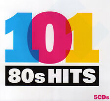 Various ‎– 101 80s Hits 26. 5 CDs. Mint. No Booklet.