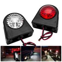 2x 12V/24V 12LED Lampara luces de marcador lateral para remolque camion coche