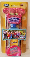 As Seen On TV Wonki Wands Giant Bubble Wand Toy: Big Soap Bubbles Outdoor Game
