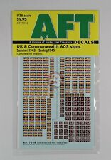 Archer 1/35 UK / CW AOS Signs REME & Junior Infantry Brigades ('43-'45) AR77036