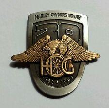 Harley Davidson H.O.G. Harley Owners Group 20th Anniversary Pin 1983-2003 100th