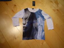 SO 12 - Camisa cara, blanco azul de Mills T. gr.122-140