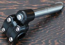 "Black Alloy 13/16"" 21.1mm O S BMX Bike 4 Bolt Quill Stem Schwinn Cruiser Bicycle"