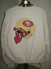 "SF 49ers Sweatshirt XL (NWO) Beige ""NICE"" 1980's"