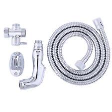 """Hand Held Bidet Shower Bathroom Spray 7/8"""" T-adapter Full Set Shattaf MB-550 Hot"""