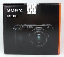 Sony Alpha 6300 Sistema de cámara 24.2 megapíxeles, 16-50mm Lente, Plata -