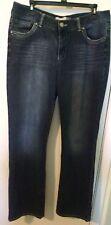 Blue Epic Women's Denim Bootcut Jeans Size 14