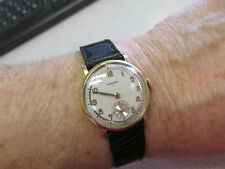 Second Hand Pristine Cond. No Reserve Imperial Watch 14k Gold Unisex with Sub