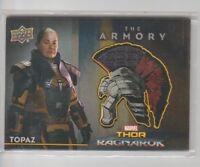 Thor Ragnarok Armory Costume Trading Card #AS-17 Rachel House as Topaz