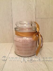 Thank you engraved personalised quality jar candle perfect teacher gift