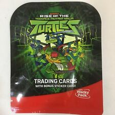 2018 Sonic Wacky Pack Rise Of The Teenage Mutant Ninja Turtles Trading Card Pack