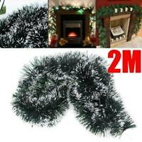 Luxury Thick Christmas Tinsel Garland Christmas Tree Decorations 2M (6.5FT)