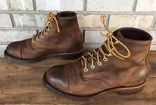 LL Bean Katahdin Iron Works Engineer Boots by Chippewa Men's Size 10.5 EE Nice!