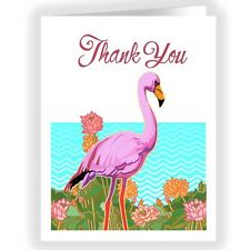 Flamingo Boxed Blank Thank You Note Card - 18 Boxed Cards & Envelopes-14244