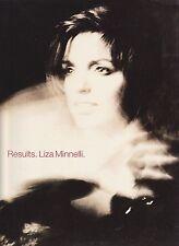 Liza Minnelli-Results-1989 Folio Piano Vocal Guitar-10 Music-Pet Shop Boys-Rare!