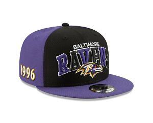 Baltimore Ravens On-Field 2019 9Fifty Home Sideline Establishment 1990 Hat