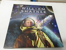 William Shatner - Seeking Major Tom 3Vinyl Box Red,Clear&Blue Vinyl SIGNED!!!
