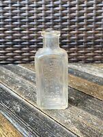 Antique Ballard Snow Liniment Co Quack Medicine Bottle St Louis MO