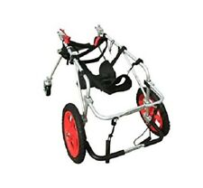 New listing Refurbished Large Quad Full Support 4 Wheel Best Friend Mobility Dog Wheelchair