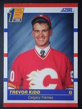 NHL 438 Trevor Kidd Calgary Flames Score 1990/91