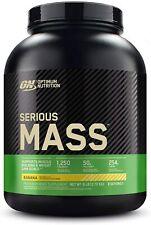 OPTIMUM NUTRITION Serious Mass Weight Gainer Protein Powder, Banana, 6 Pound