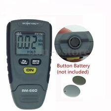SR2120B Paint Coating Thickness Gauge Meter Tester Base Iron Aluminum 0-1.25mm