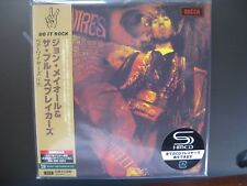 CD John Mayall - Bare Wires  SHM JAPAN MINI LP CD OBI