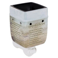 Footprints in the Sand Ceramic Stoneware Electric Plug-in Warmer
