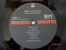 "BRUCE SPRINGSTEEN ""BORN IN THE USA"" - LP  MASTER SOUND - 1984"