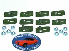 NOS GM Body Door Fender Side Belt Trim Moulding Molding Clips & Nuts 10pcs N