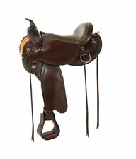 """Circle Y 16"""" Nova Flex2 Western Trail Saddle #1566 New Full Quarter Horse Bar"""